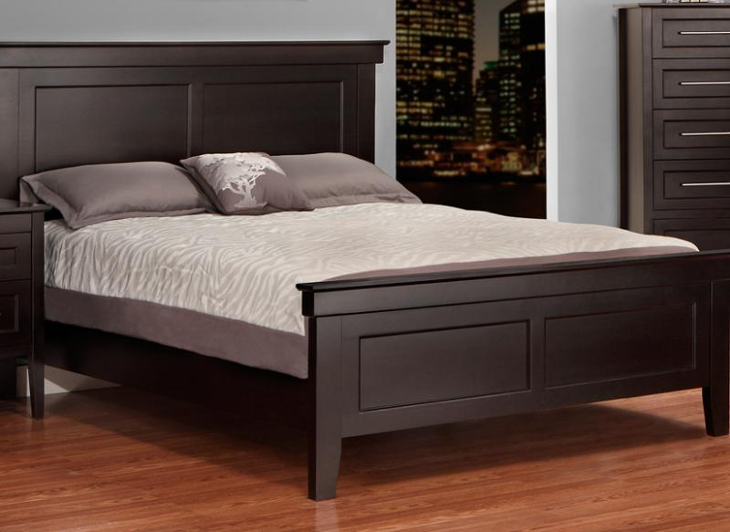 Stockholm Queen Bed With Low Footboard Handstone