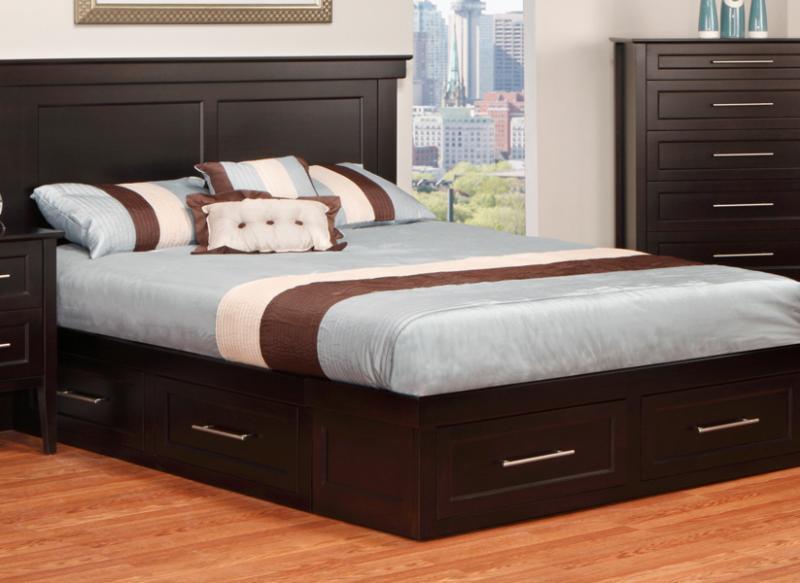 stockholm queen condo bed handstone. Black Bedroom Furniture Sets. Home Design Ideas