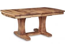Stockholm Double Pedestal Table