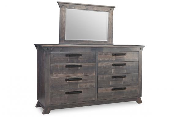 Photo of Algoma 8 Drawer Long High Dresser