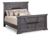 Algoma Queen Bed with High Footboard