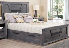 Algoma Queen 4 Drawer Storage Platform Bed