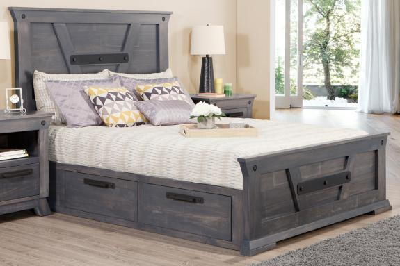 Photo of Algoma Queen 4 Drawer Storage Platform Bed