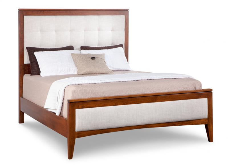 Catalina Queen Fabric Upholstered Bed With 22 Low