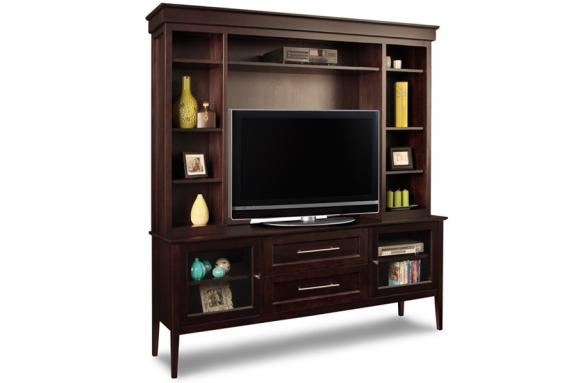 "Photo of Stockholm 74"" HDTV Cabinet With Hutch"