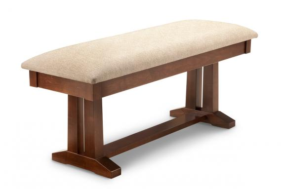 "Photo of Brooklyn 48"" Pedestal Bench"