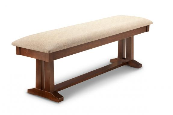 "Photo of Brooklyn 60"" Pedestal Bench"