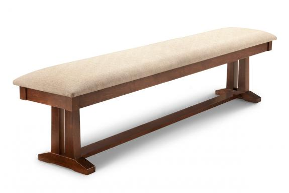 "Photo of Brooklyn 72"" Pedestal Bench"