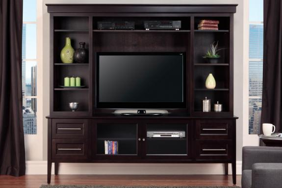 """Photo of Stockholm 84"""" HDTV Cabinet With Hutch"""