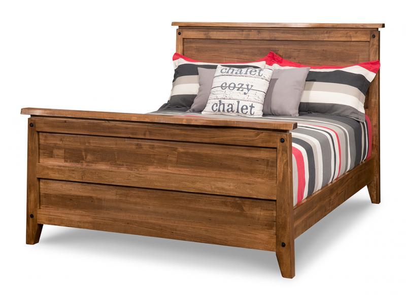 Pemberton Queen Bed With 32 High Footboard Handstone