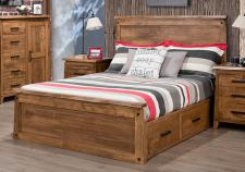 Pemberton Storage Platform Bed With Low Footboard