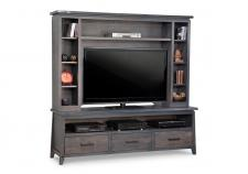 Pemberton HDTV Cabinet with Hutch