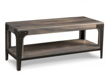 """Portland 48"""" Bench with Wood Seat"""