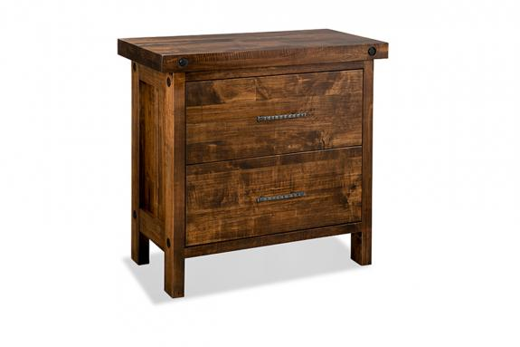 Photo of Rafters 2 Drawer File Cabinet