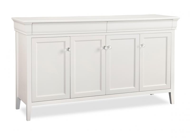 Dark Cherry Wood Credenza : Altra furniture pursuit u configuration bridge credenza hutch