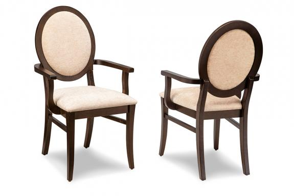 Photo of Sonoma Padded Back Arm Chairs