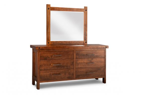 Photo of Rafters Long Dresser & Mirror