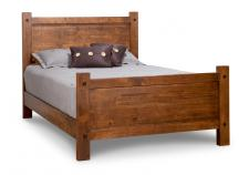 Rafters Bed w/High Footboard