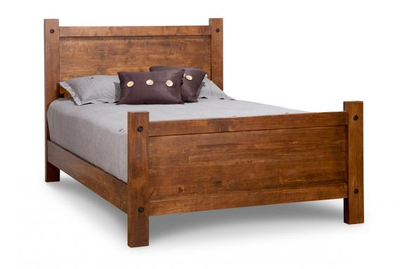 Photo of Rafters Bed w/High Footboard