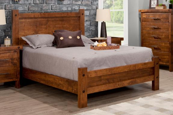 Photo of Rafters Bed w/Low Footboard