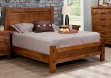 Rafters Bed w/Low Footboard