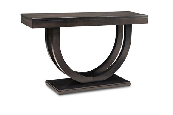 """Photo of Contempo Pedestal 54"""" Sofa Table"""