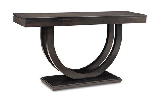 """Photo of Contempo Pedestal 60"""" Sofa Table"""