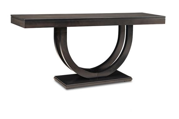 "Photo of Contempo Pedestal 72"" Sofa Table"