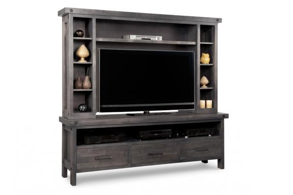 Photo of Rafters 82-1/2'' HDTV Unit w/Hutch