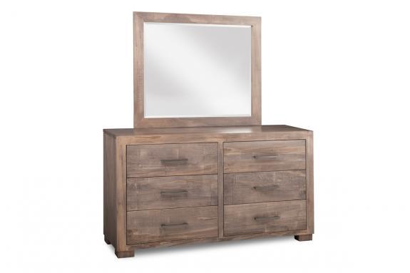 Photo of Steel City 6 Drawer Dresser & Mirror