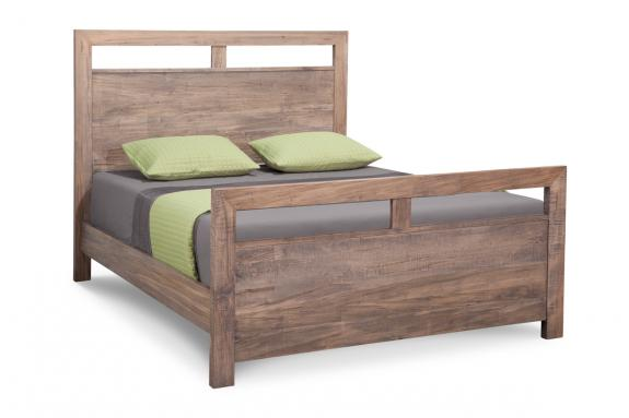 Photo of Steel City Bed w/High Footboard