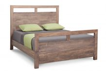 Steel City Bed w/High Footboard
