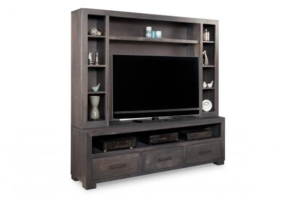 Photo of Steel City 70'' HDTV Unit w/ Hutch