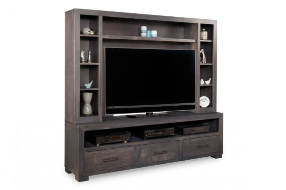 Photo of Steel City 80'' HDTV Unit w/ Hutch