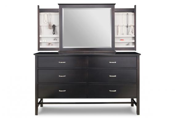 Photo of Brooklyn Deep Long Dresser & Mirror