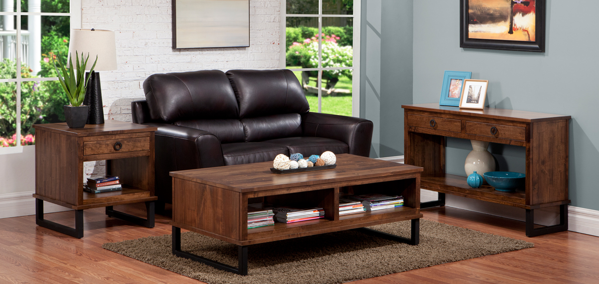 Hand Crafted Solid Wood Living Room Furniture