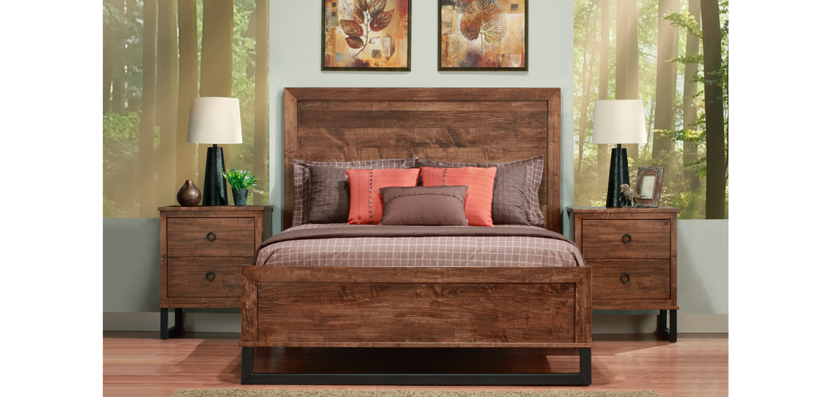 Hand Crafted Solid Wood Bedroom Furniture